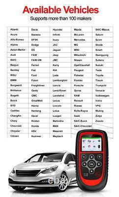 Outil De Programmation Tpms Car Moniteur De Pression De Pneus Outil De Recyclage De Diagnostic