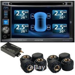 / Pneus Système De Surveillance De Pression Tpms 8 Externe Cap 22 Capteurs DVD Vidéo Voiture