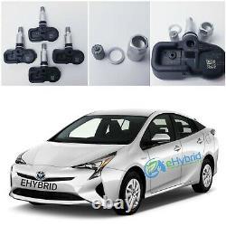 Pour Toyota Prius Tpms Capteur De Surveillance De La Pression Des Pneumatiques 42607-02031 Ensemble De 4 Capteurs