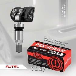 Pression Autel Tpms Tool Kit Pneus Système De Surveillance De Réinitialisation De Diagnostic Capteurs Avec Ses 4
