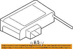 Saturn Gm Oem 08-09 Astra Tire Pressurisation Du Module De Surveillance-contrôle 13129153