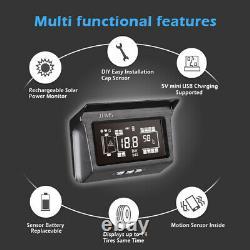 Solar Wireless 10 Tpms Système De Surveillance De La Pression Des Pneus En Temps Réel Pour Mack Truck