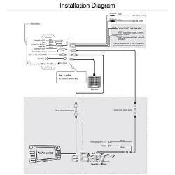 Steelmate Tp-05 Système De Surveillance De La Pression Des Pneus Tpms Dans Le Tableau De Bord A / V H4v2