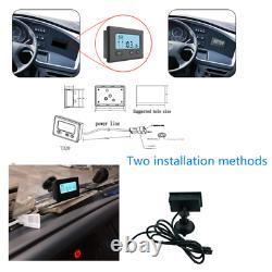 Système De Surveillance De La Pression Des Pneus 24x7 En Temps Réel + 10 À Capteurs + Booster Truck Car