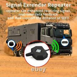 Système De Surveillance De La Pression Des Pneus Iker Pour Remorque Rv Tpms Avec 6 Capteurs Et A