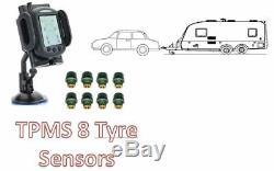 Système De Surveillance De La Pression Des Pneus Pour Les Capteurs De Pneus Pour Voitures Et Caravan 8
