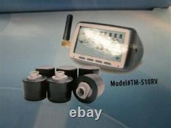 Système De Surveillance De La Pression Des Pneus Sans Fil Tst Rv Tm-510rv
