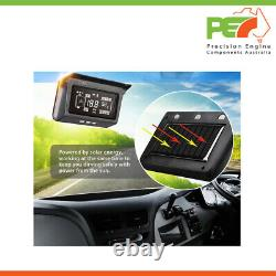 Système Solaire De Surveillance De La Pression Des Pneus Tpms Pour Camion Rv Caravan 8 Sensor