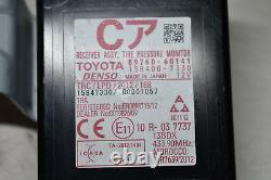 Toyota Land Cruiser Récepteur Assy, Moniteur De Pression Des Pneus 89760-60141 #190159