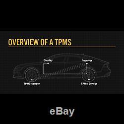 Tpms De Pression Des Pneus Système De Surveillance Capteurs Valve Interne X 8 Caravane De Camions
