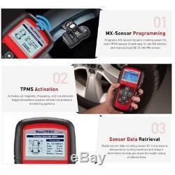 Tpms Réapprendre Outil Automatique Pneu D'activation Du Capteur De Pression Obd Eobd Ts401 Autel