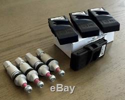 Tpms Sensor Set Pour Bmw E90 M3 E91 E92 E93 Tire Pressure Monitor Remplacement Oem