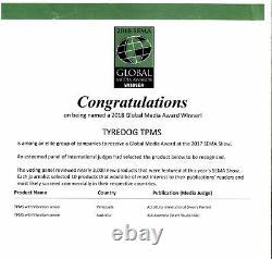 Tpvms Td1800 Tyredog Tyredog Tyre Pressure Monitor System Capteur Interne Sema Award