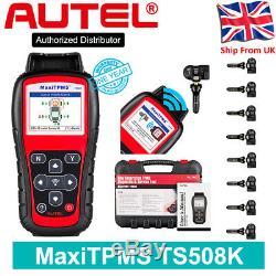 Ts508k Tpms Code Autel Scanner Outil De Pression Des Pneus Moniteur Du Capteur Programme Système