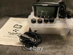 Tyrepal Tc215 Système De Surveillance De La Pression Des Pneus Tpms 8 Capteurs Caravanes Et Remorques