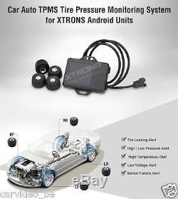 Vehicules Tpms Pneus Système De Surveillance De La Pression Pour Xtrons Android Unités