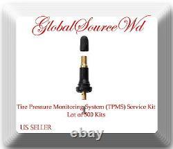 (lot De 500) Système De Surveillance De La Pression Des Pneus (tpms)kit De Service Valve De Pneus 20008